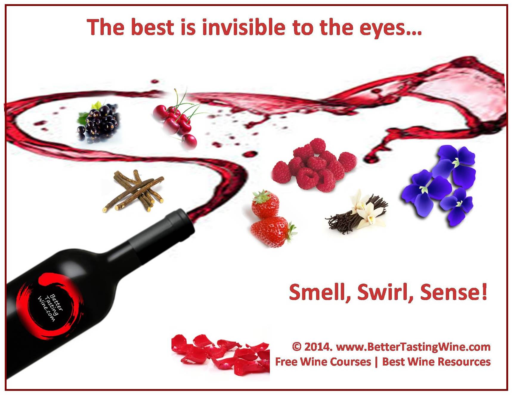 Wine Quote Best is Invisible BetterTastingWine